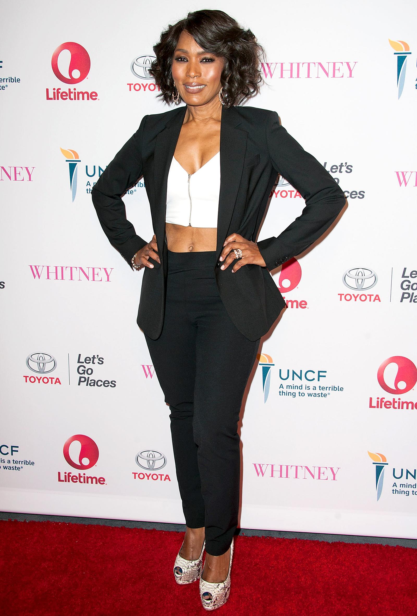 Angela Bassett American Black Woman Skin Care Blog For